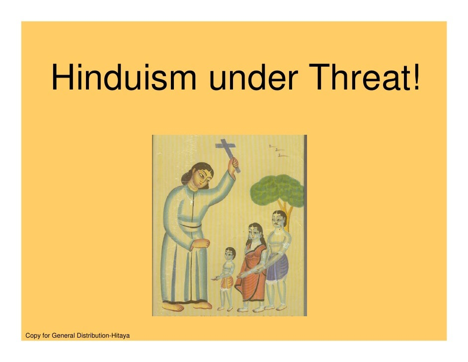 National Threat / Death to Hinduism/
