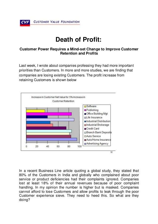 Death of Profit