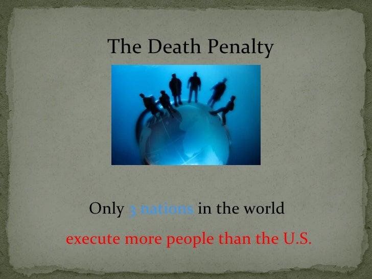 What would you add about the death penalty to my essay? 10 points best answer!?