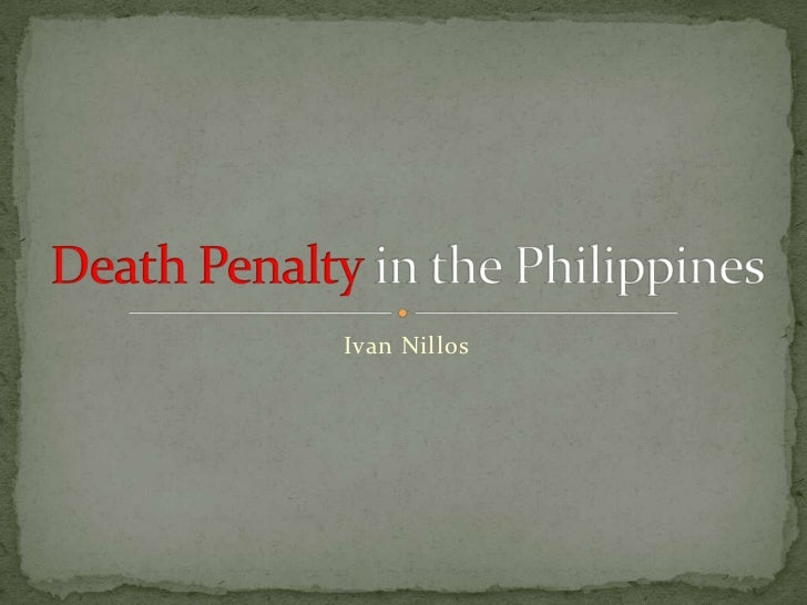 death penalty in the philippines The philippine house of representatives has approved a bill to restore the death penalty, 11 years after it was abolished the government has called the measure a vital tool in duterte's war on .