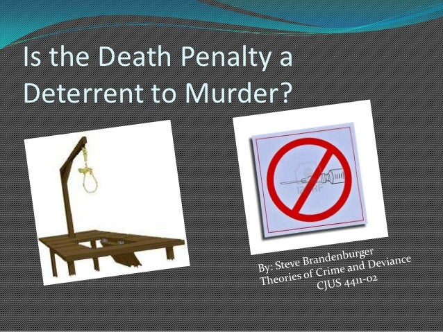 thesis for pro death penalty