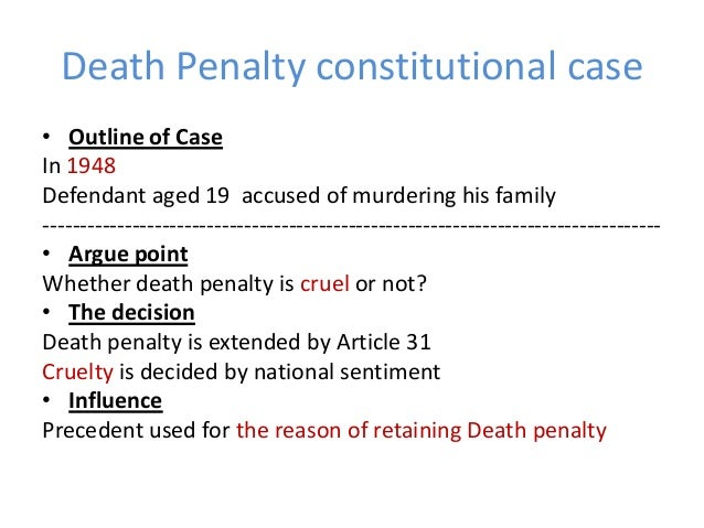 death penalty constitutional essay The constitutional death penalty kissandra moore us constitutional history 556 douglas a dribben sep 10, 2012 arguments over the death penalty always.