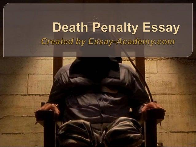 Death Penalty Debate Essay