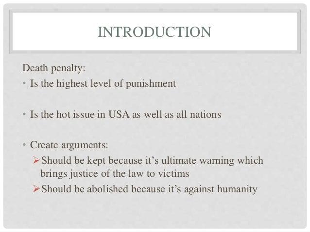 Argument Against Death Penalty Essay