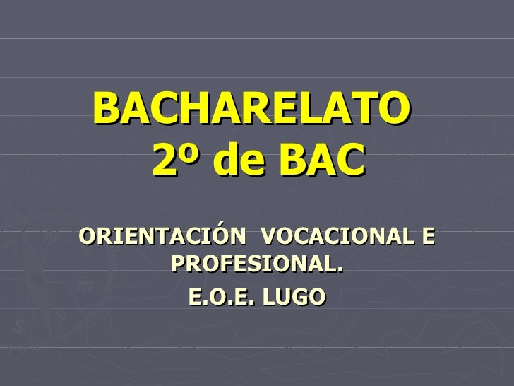 De bac á universidade 2010 11