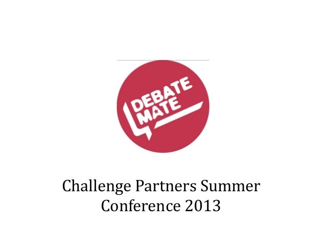 Challenge Partners Summer Conference 2013