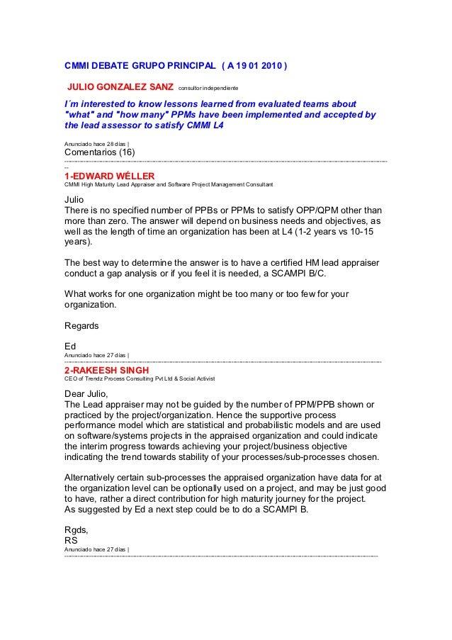 Debate julio pp ms retqe 19 01 2010