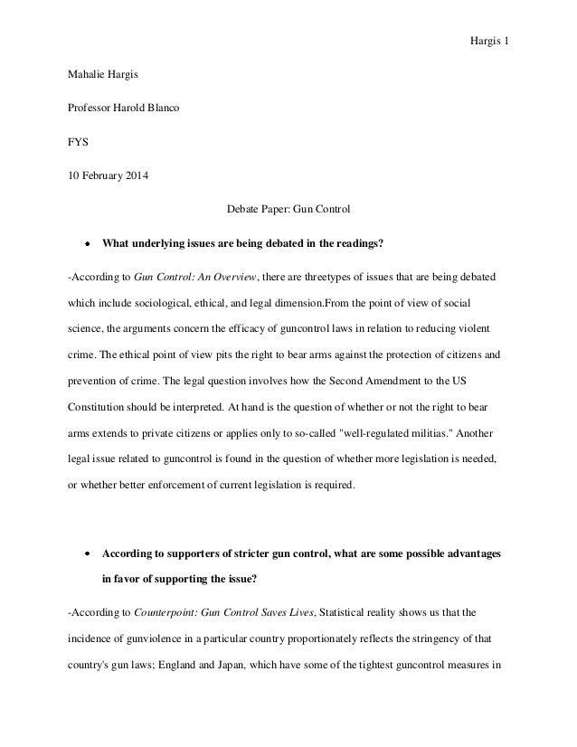 debate essay examples explore persuasive writing examples and  pro con gun control essay outline
