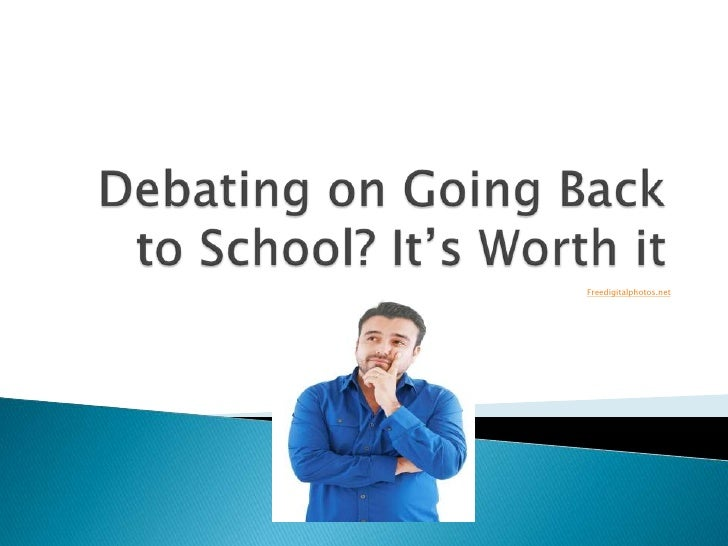 Debating on Going Back to School? It's Worth it!