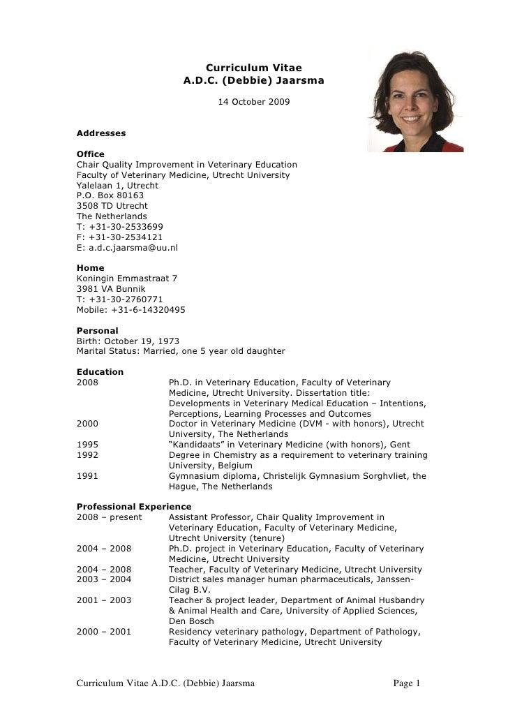 Debbie Jaarsma C Vokt 2009