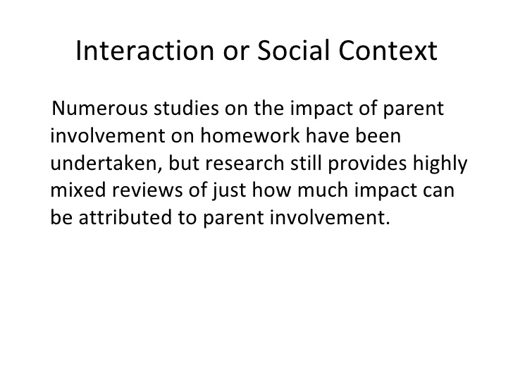 essay on parents role