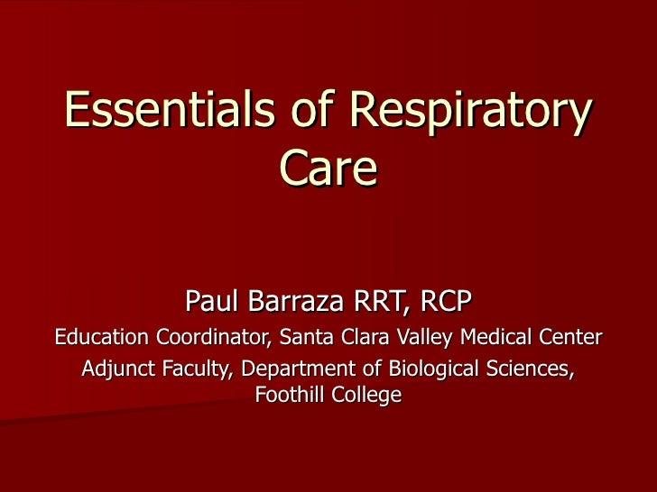 Respiratory Talk