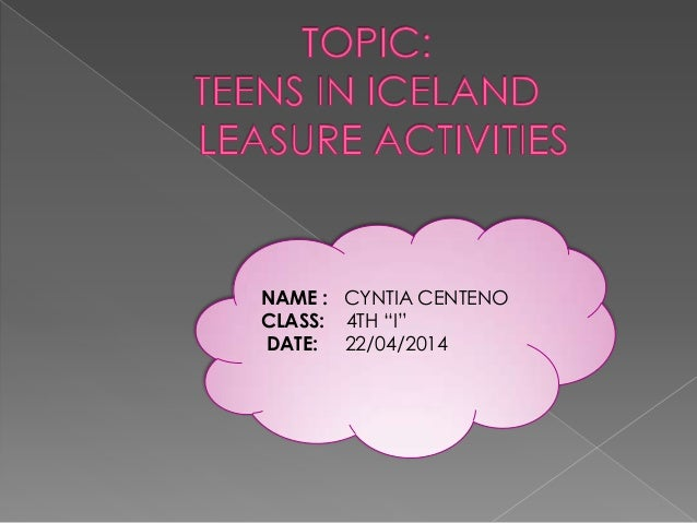 "NAME : CYNTIA CENTENO CLASS: 4TH ""I"" DATE: 22/04/2014"