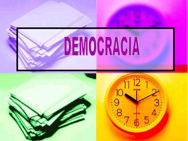 DefiniciónAlgunos pensadores consideran a la  democracia ateniense como el primer  ejemplo de un sistema democrático.  Hoy...