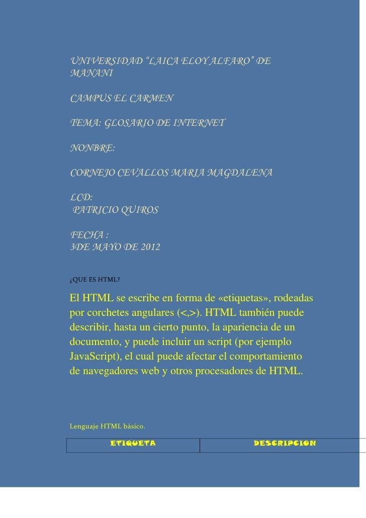 comandos de pagina web