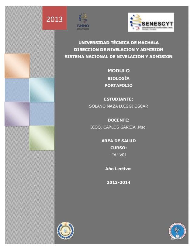 UNIVERSIDAD TÉCNICA DE MACHALA DIRECCIÓN DE NIVELACIÓN Y ADMISIÓN SISTEMA NACIONAL DE NIVELACIÓN Y ADMISIÓN UUNNIIVVEERRSS...