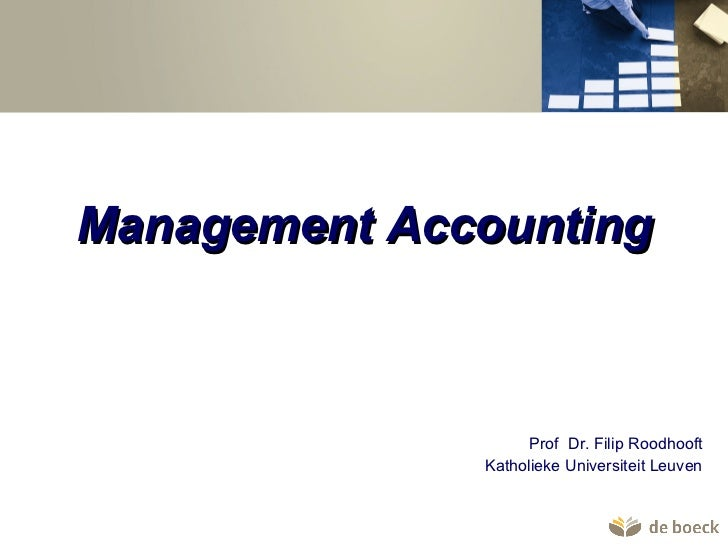 De boeck management accounting2011
