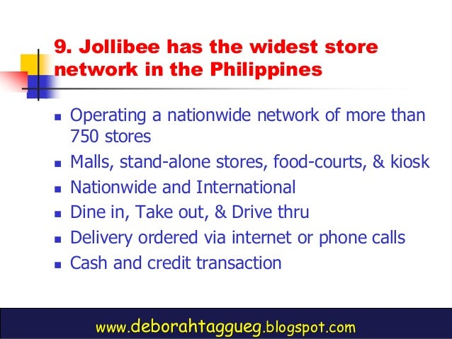marketing environment of jollibee Aside from promoting a family oriented work environment, the branda€™s values also reflect on their advertising and marketing jollibee knows their target.