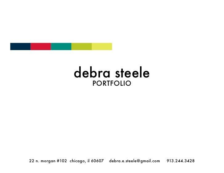 Debra Steele Portfolio