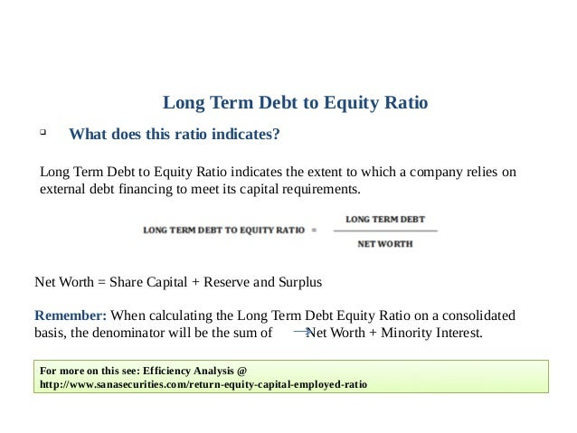 BREAKING DOWN 'Long-Term Debt To Total Assets Ratio'