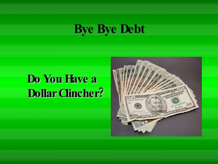 Debt Elimination Tips