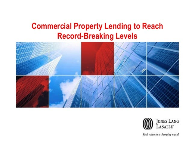 Commercial Property Lending to Reach Record-Breaking Levels