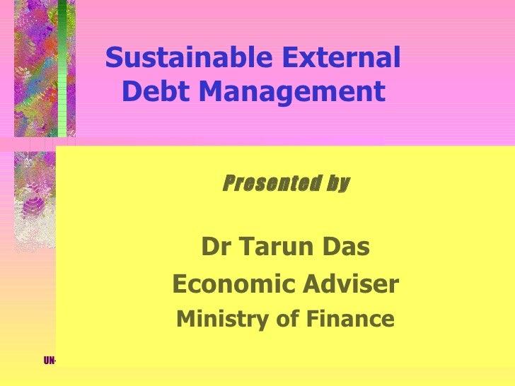 Debt Management Tarun Das