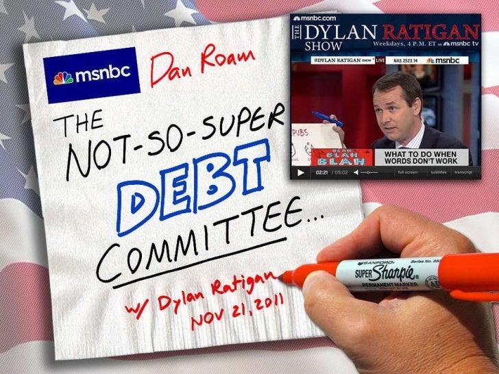 Dan Roam & MSNBC on the Debt Crisis