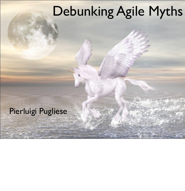 Debunking agile myths (with references)