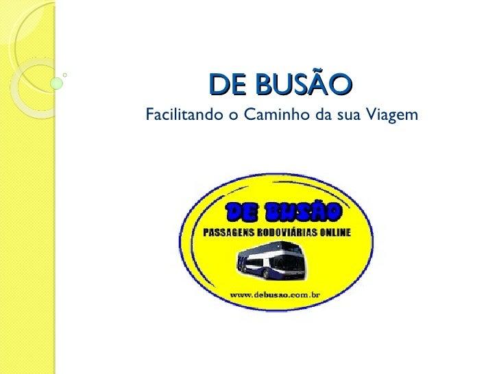Debusao Business Plan