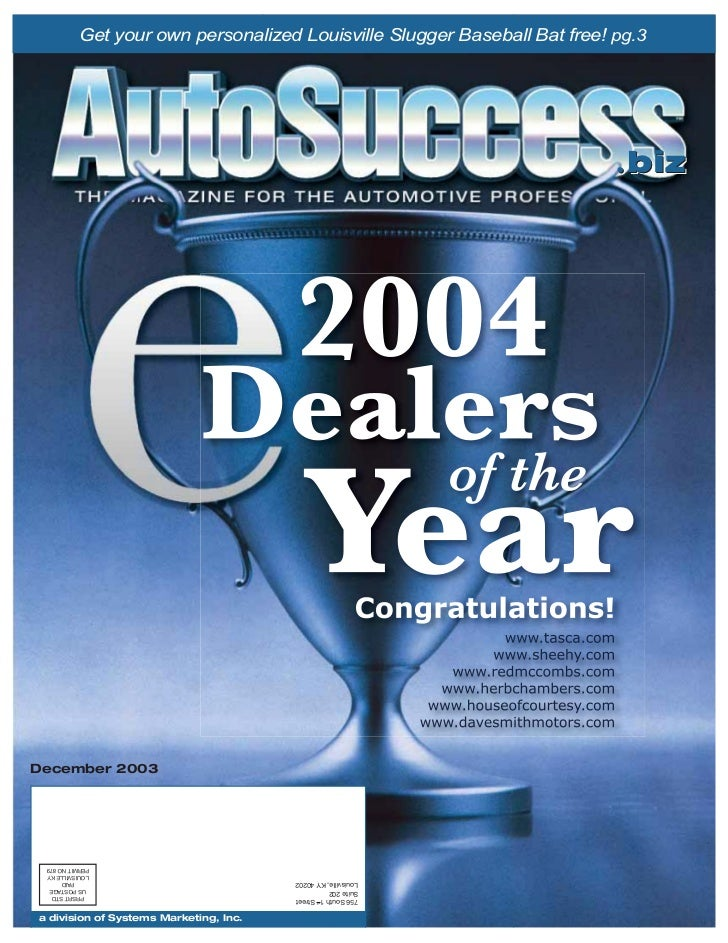 AutoSuccess Dec03