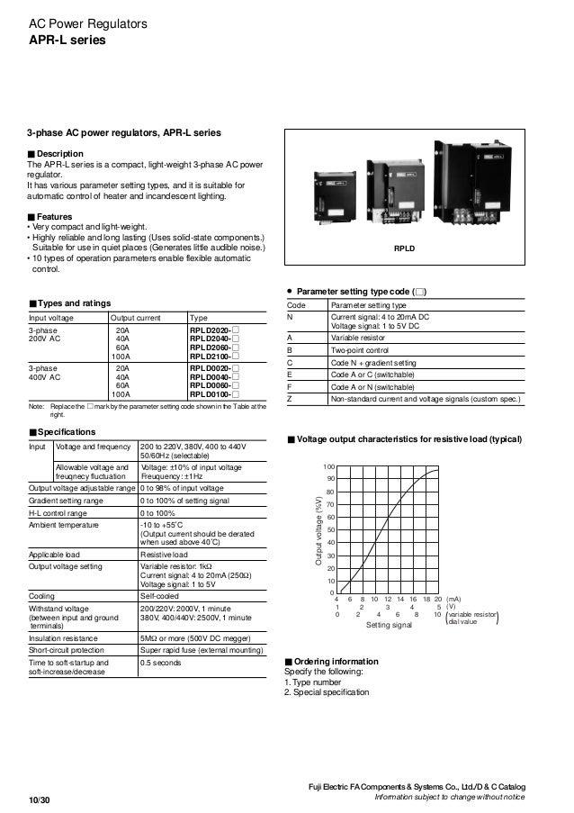 10 - ac power regulators  u0026 control power transformers