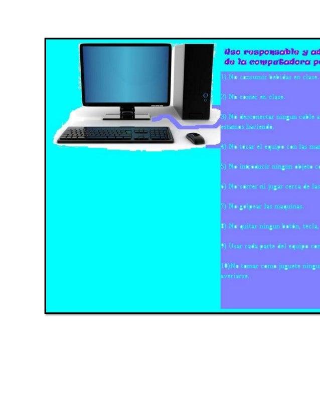 Dec4logo, uso correcto y adecuado de la computadora.