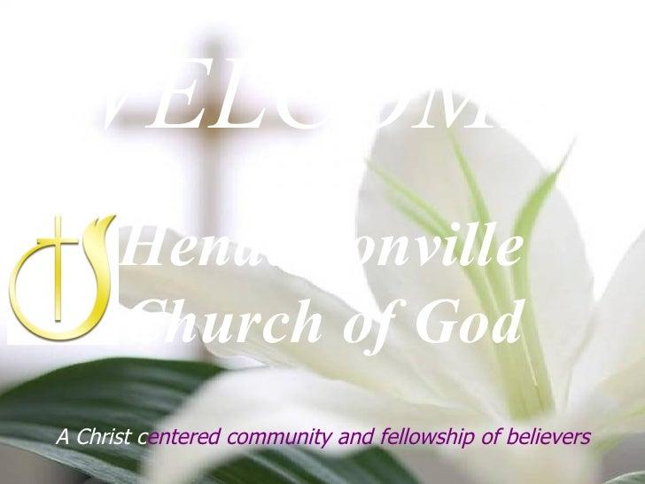 Dec 6 2009 Church Announcements - Hendersonville Church of God