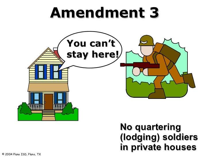 The third Amendment: No quartering - 74.2KB