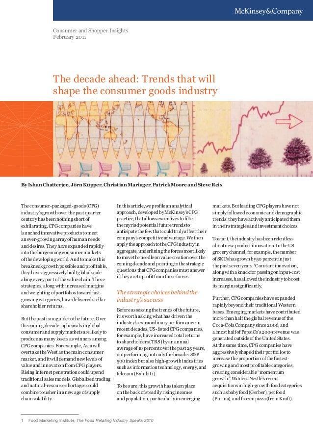 McKinsey : Decade ahead