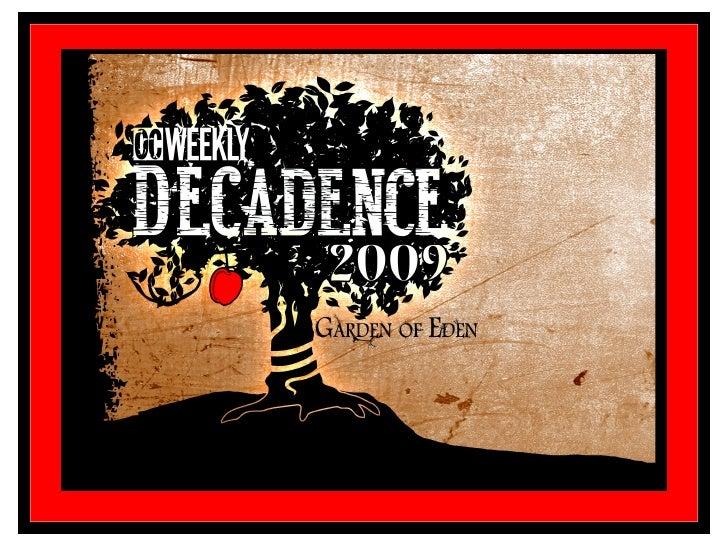 Decadence Generalinfo