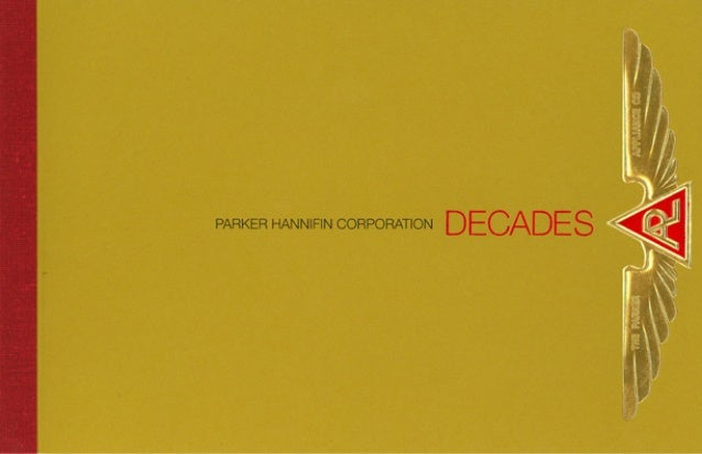 Parker Hannifin Decades History Brochure