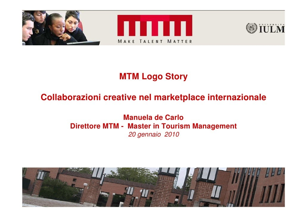 De Carlo Mtm Logostory