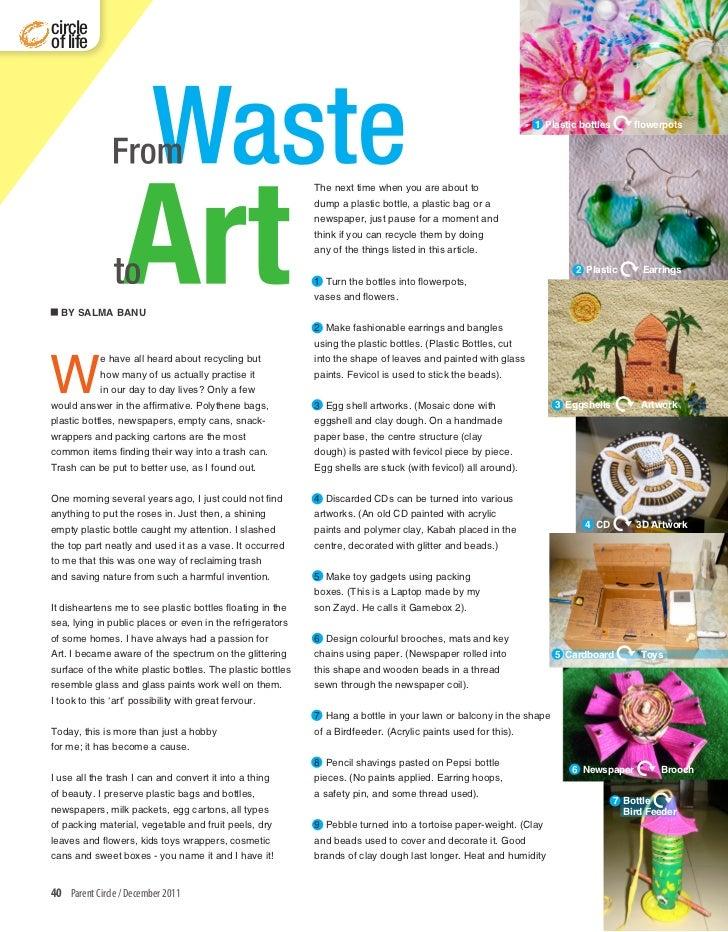Waste to Art