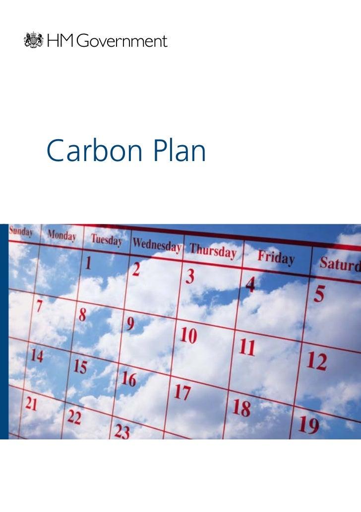 Decc the carbon-plan
