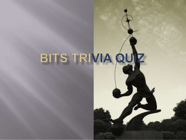 December 15th  quiz for BITSAA event