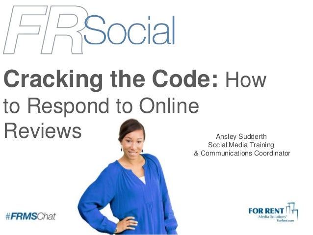 Cracking the Code: How to Respond to Online Reviews