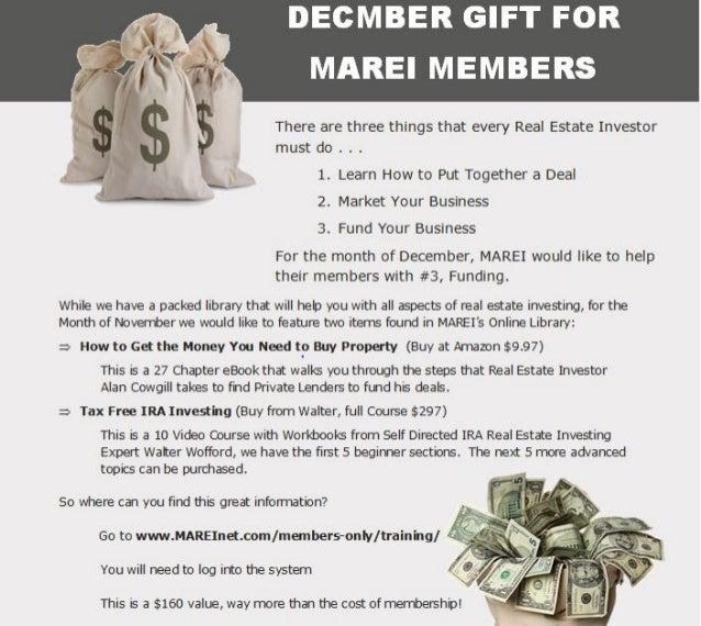 December Gift for MAREI Members