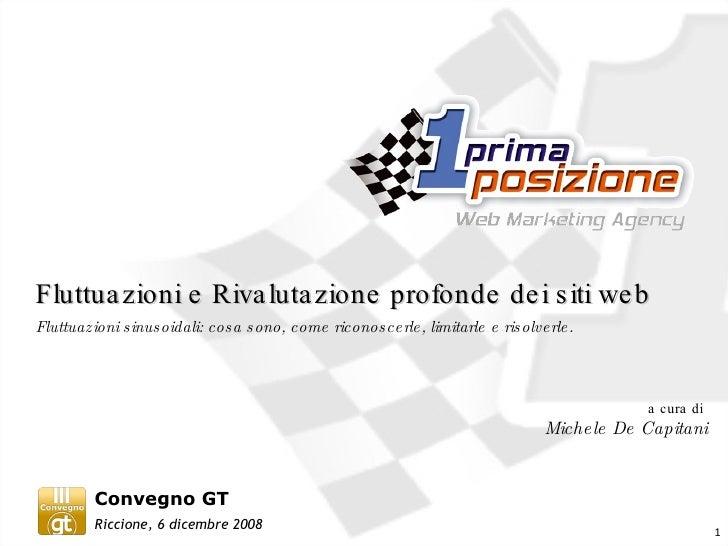 Fluttuazioni sinusoidali Google - Convegno GT2008