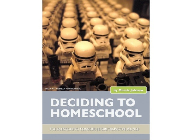 Deciding to Homeschool: Five Questions to Consider Before Taking the Plunge