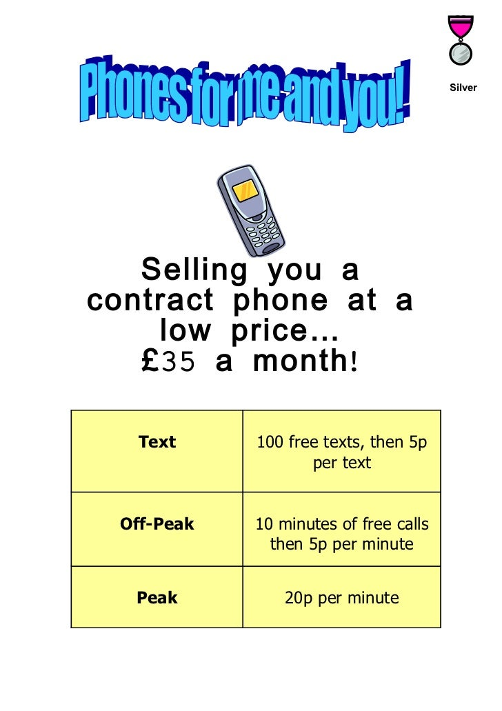 Deciding on the best mobile phone deal[1]