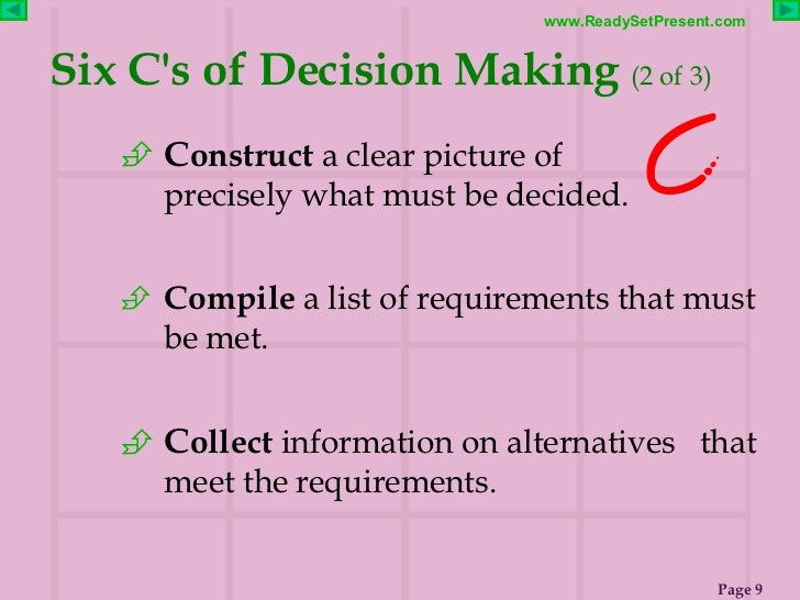 Cheap write my essay pitfalls of decision making