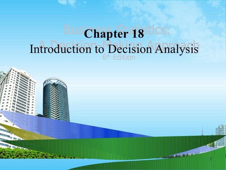 Decision analysis ppt @ bec doms