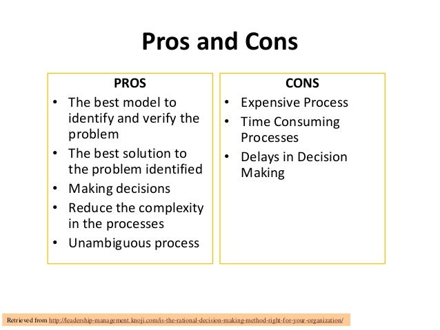 Pros and Cons                              PROS                                                      CONS                •...